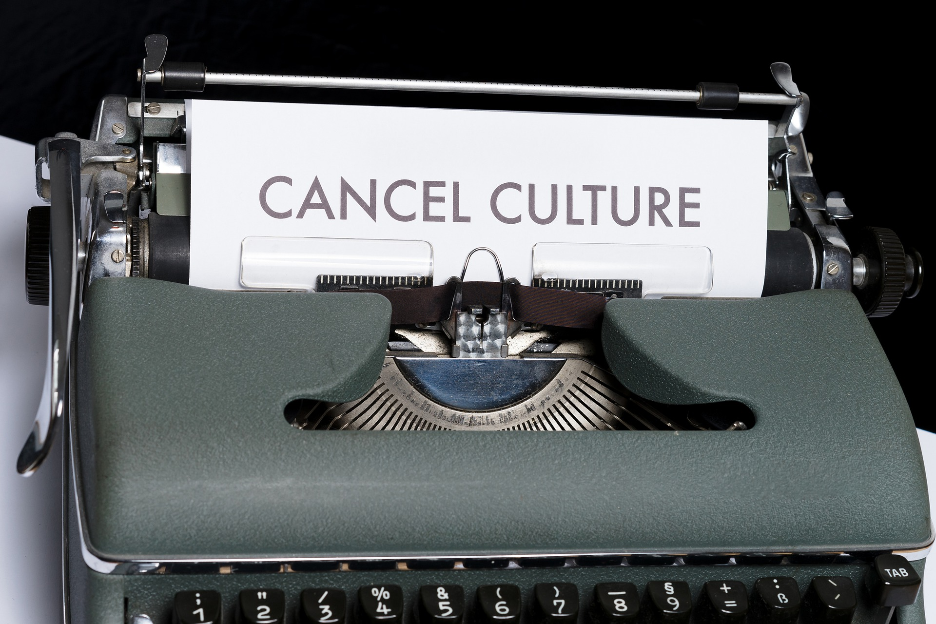 TAKING A RISK IN A CANCEL CULTURE CLIMATE